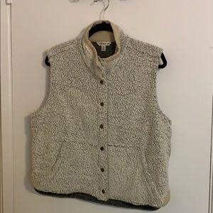 Cream Sheridan Sherpa vest